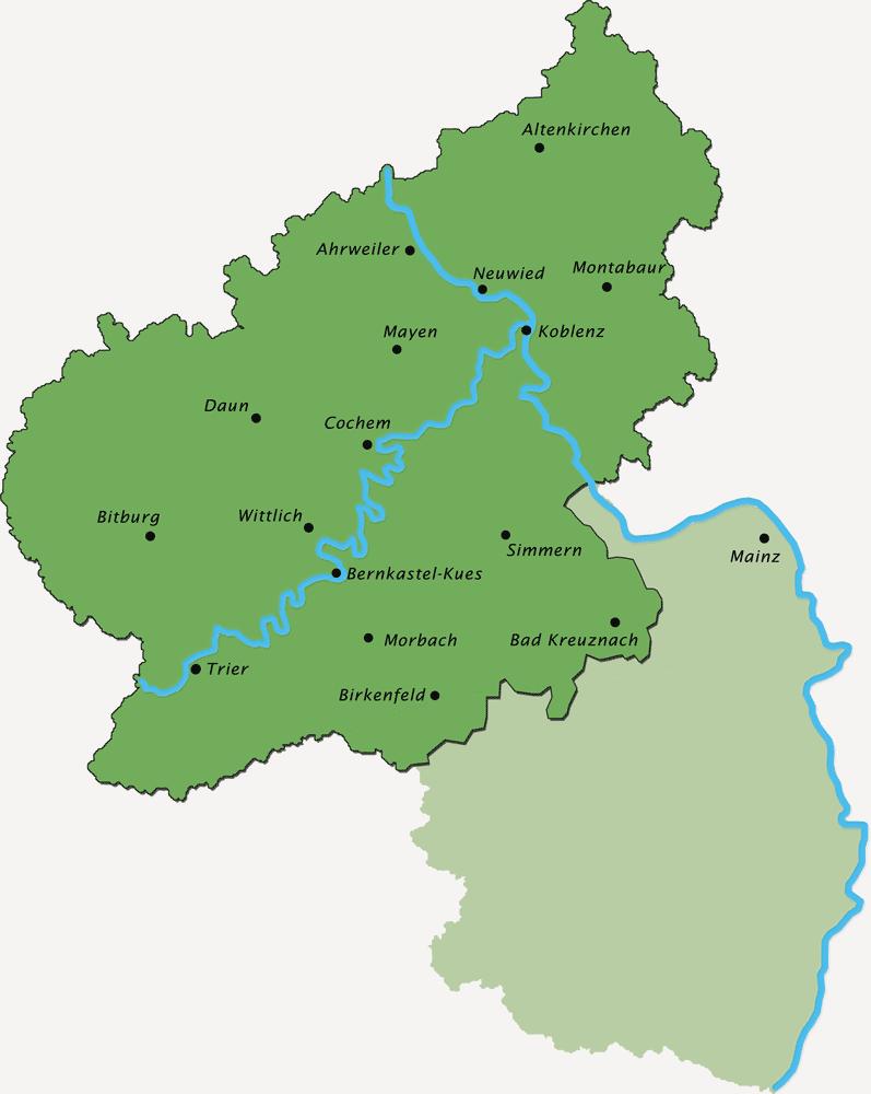 Verbandsgebiet Rheinland-Nassau