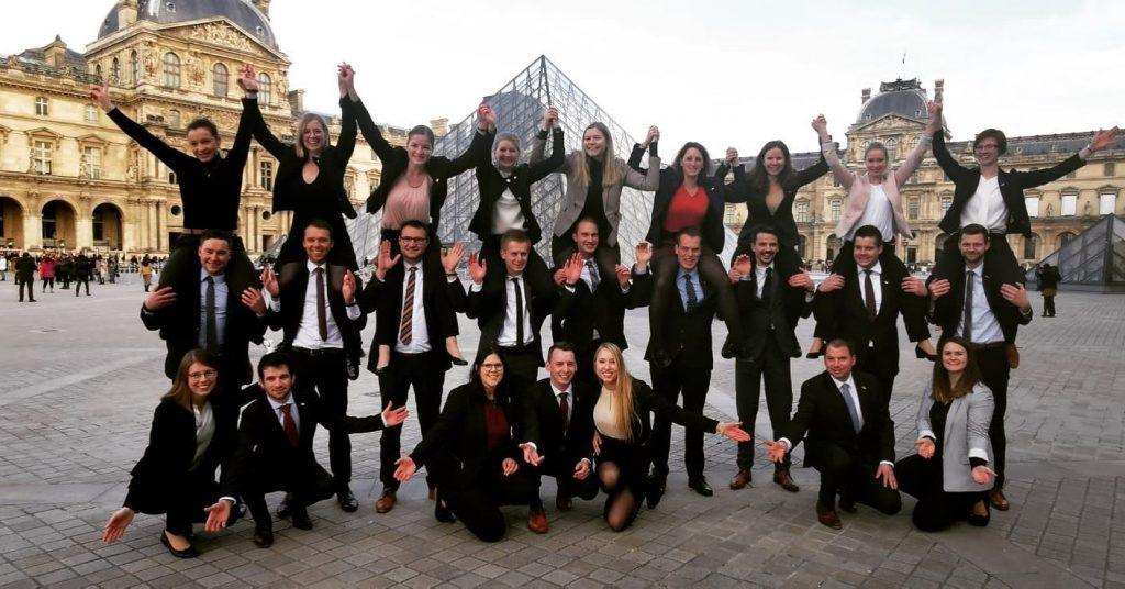 TOP-Kurs Teilnehmer in Paris