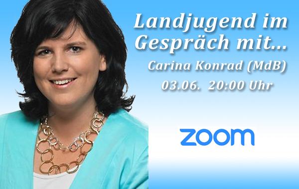 Landjugend im Gespräch mit Carina Konrad