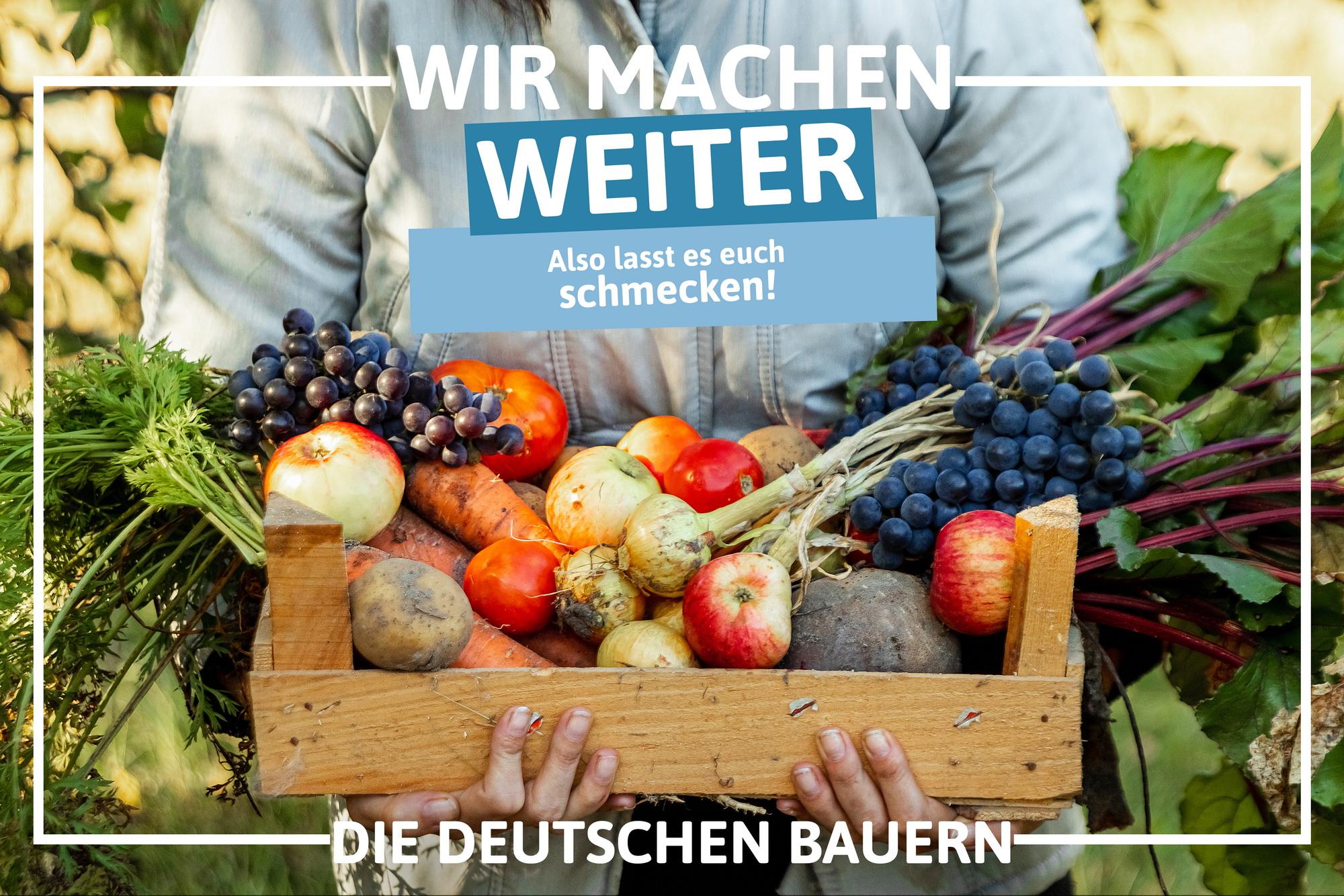 Kampagne der Deutschen Bauern