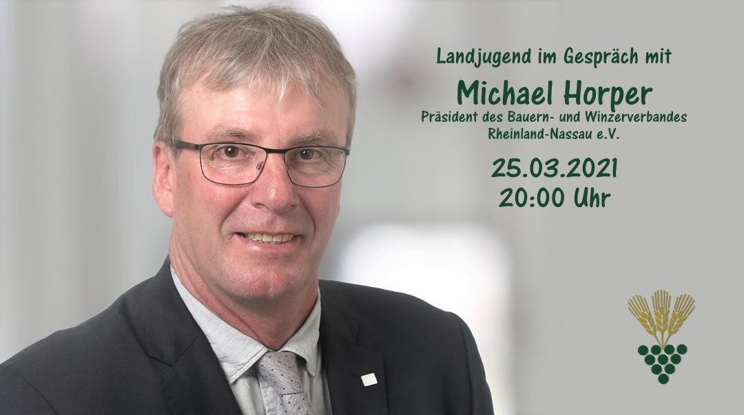 Landjugend im Gespräch mit Michael Horper